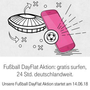 Telekom Fußball DayFlat Aktion